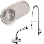 Kitchen Sinks & Taps
